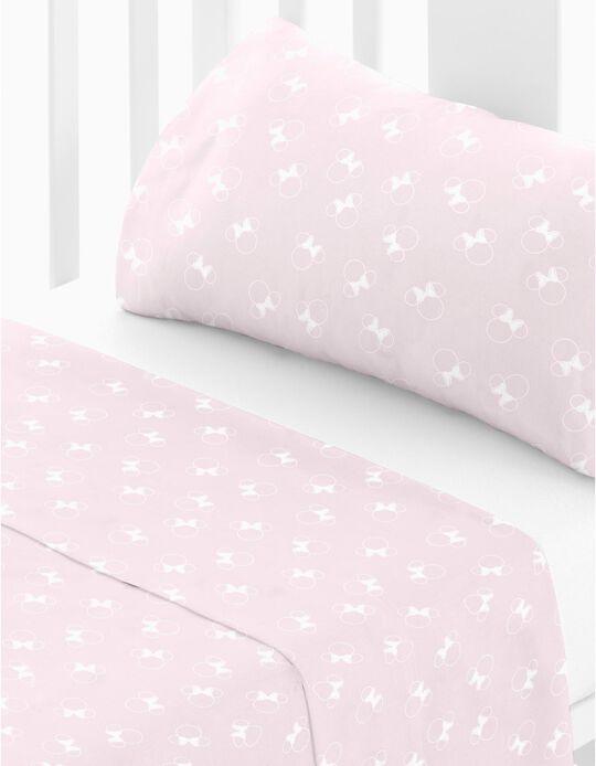 Conjunto de Lençois de cama M Is For Minnie Disney