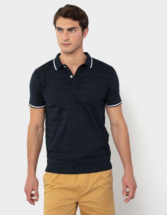 PiquéKnit Polo Shirt, for Men