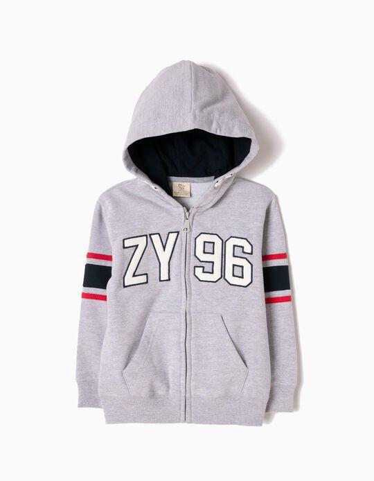 Grey Hoodie, ZY 96