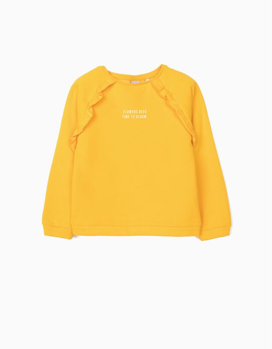 Carded Sweatshirt, Time to Bloom