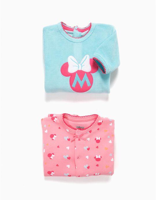 Pack 2 Babygrows Minnie