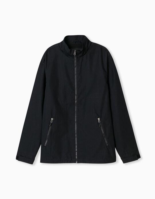 Carded Jacket, Men, Dark Blue