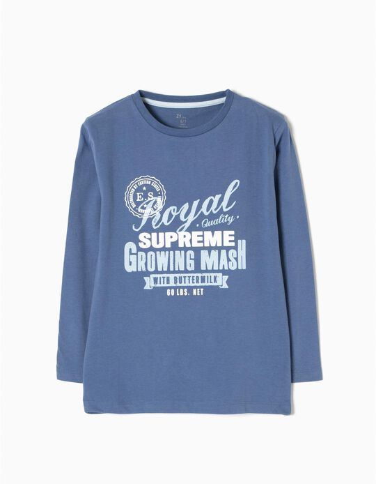T-shirt Manga Comprida Royal