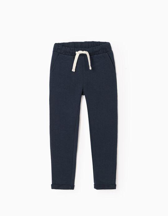 Joggers for Girls, Dark Blue