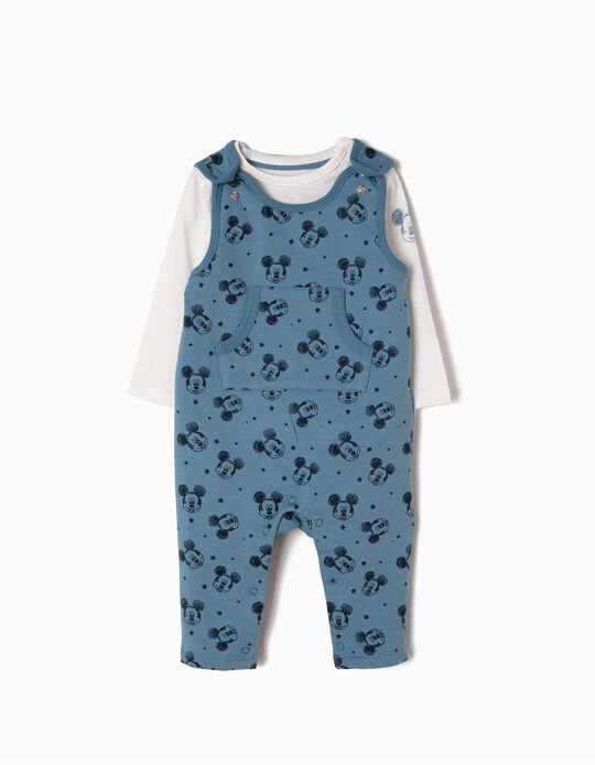 Rompers & T-Shirt Outfit, Mickey