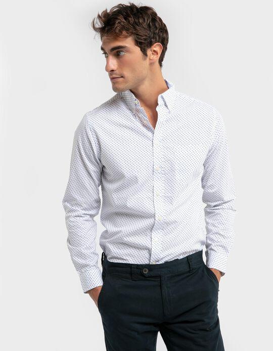 Camisa padrão slim-fit