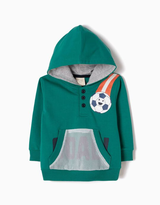 Sweatshirt com Capuz Football
