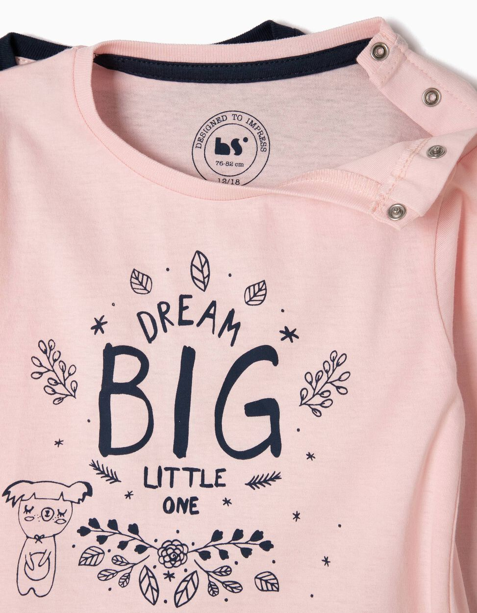 Pack 2 T-shirts Dream Big Little One
