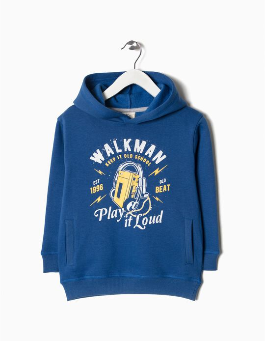 Sweatshirt walkman