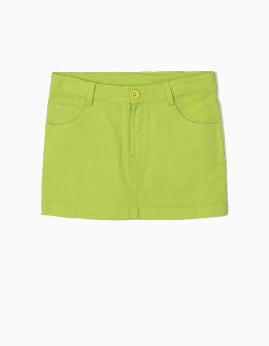 Twill Skirt, Plain