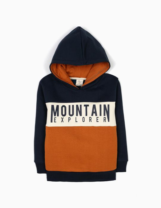 Sweatshirt com Capuz Mountain Explorer
