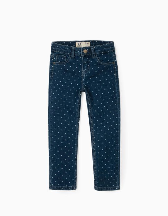Jeans for Girls 'Dots', Blue
