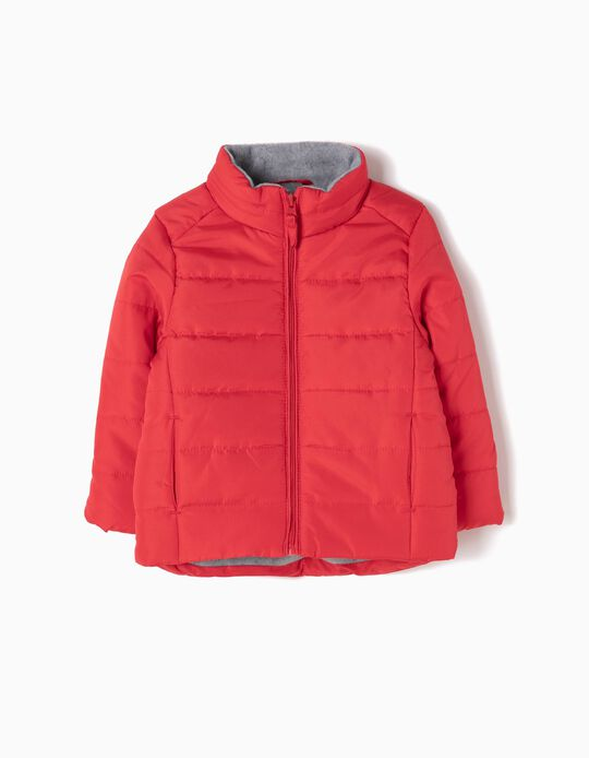 Red Padded Parka