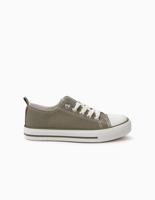 Sapatilhas para Criança '50's Sneaker' com Cordões, Verde