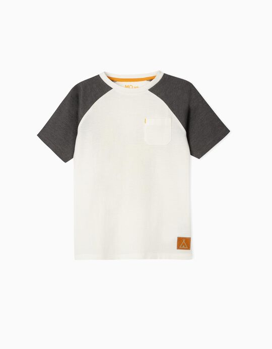 Two-tone T-shirt for Boys