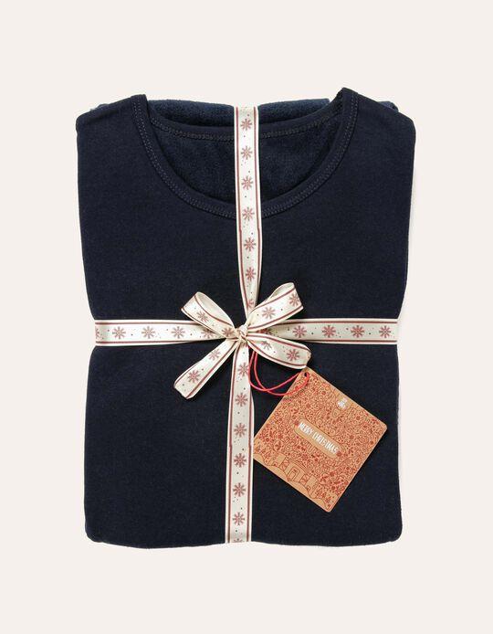 Conjunto de pijama polar de Natal.