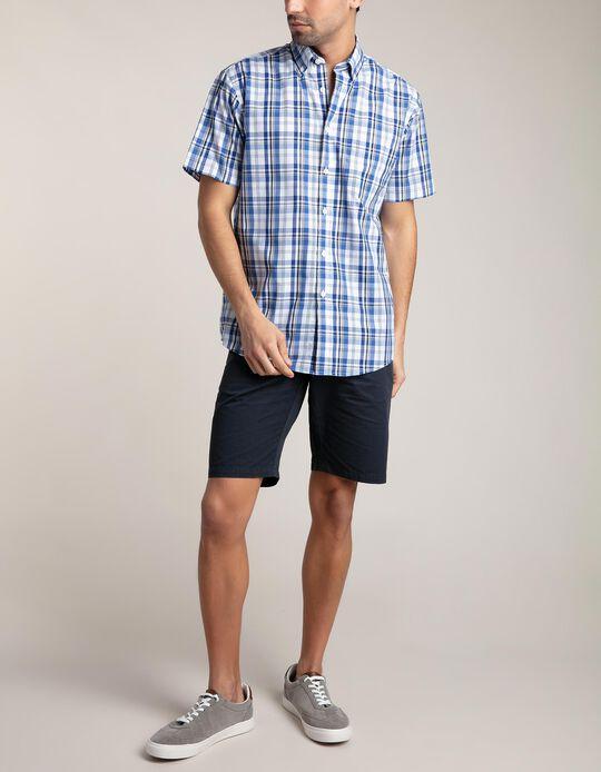 Camisa tartã Essentials