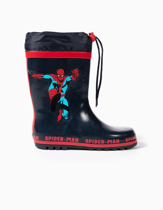 Rain Boots for Boys 'Spider-Man', Dark Blue