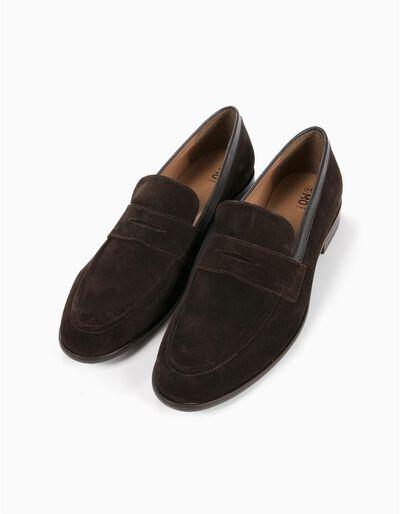 Sapatos Camurça