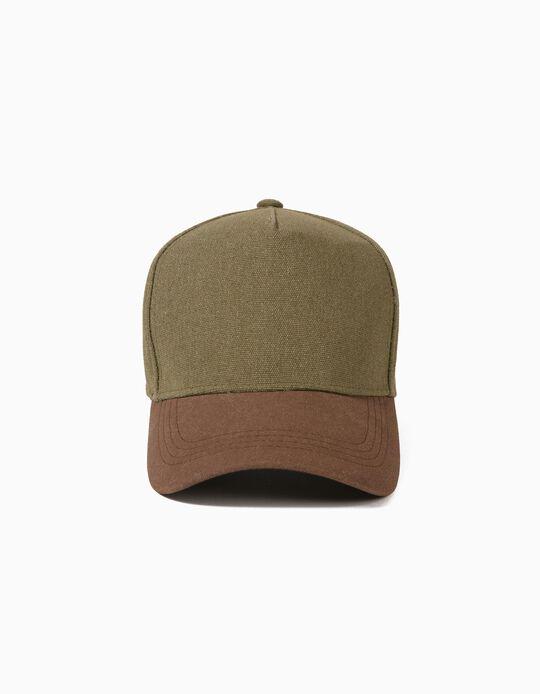 Two-Tone Cap, for Men