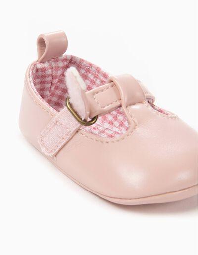 Sapatos Pre-Walker Rosa