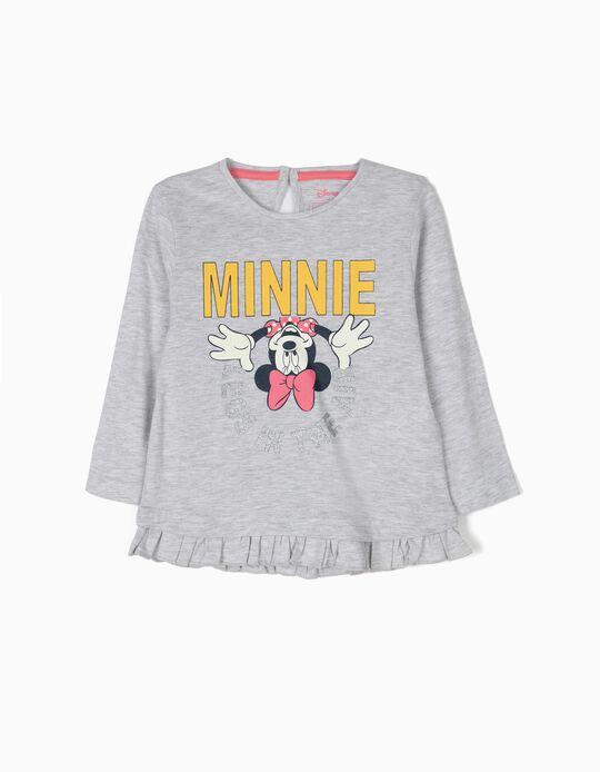 T-shirt de Manga Comprida Minnie Legs in the Air