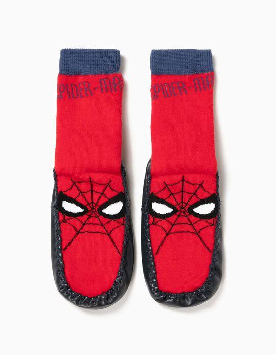 Meias-Pantufa Antiderrapantes Spider-Man