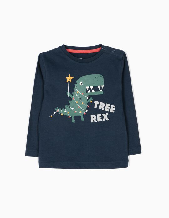 Long-Sleeved Top, Tree Rex