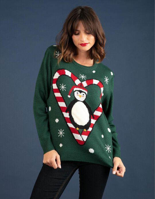 Camisola natalícia Pinguim