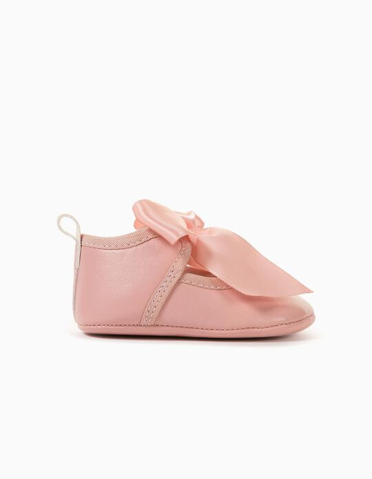 Ballet Pumps for Newborn Baby Girls, Pink