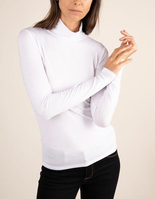 Camisola básica de gola alta da gama Essentials