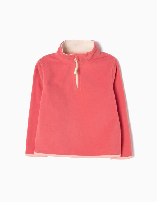 Pink Polar Fleece Jumper