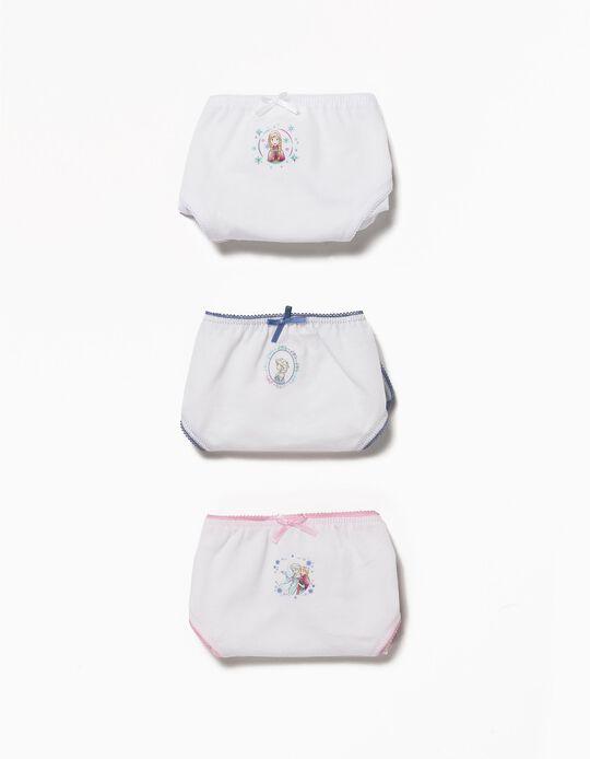 Pack 3 Cuecas Princesas