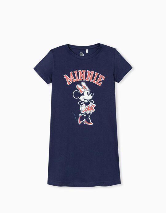 Minnie Mouse Dress, Girls, Dark Blue