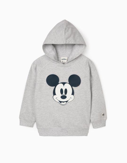 Hooded Sweatshirt for Boys 'Mickey', Grey
