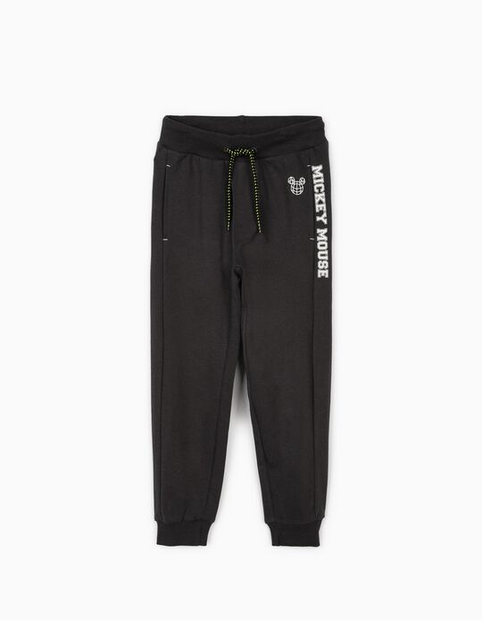Joggers for Boys 'Mickey Mouse', Dark Grey