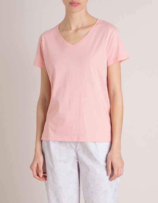 T-Shirt Pijama Rosa