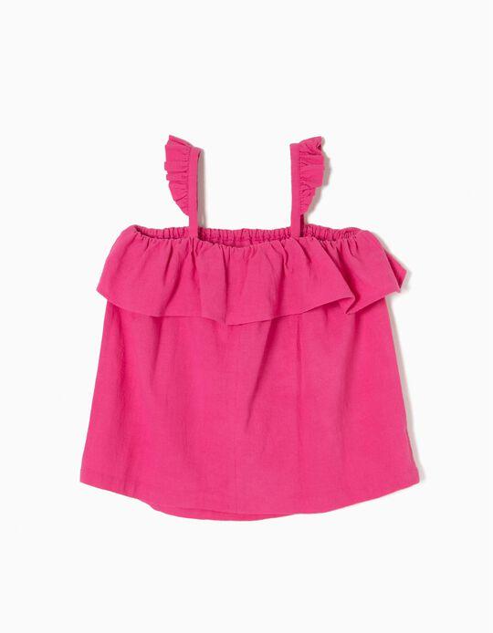 Blusa Rosa Fantasia