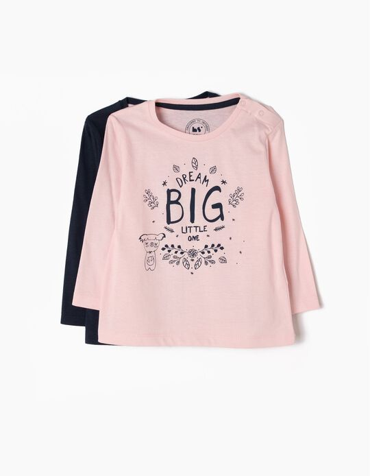 Pack of 2 T-Shirts, Dream Big Little One