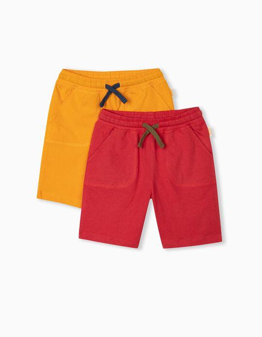 2 Jogger Shorts, Boys