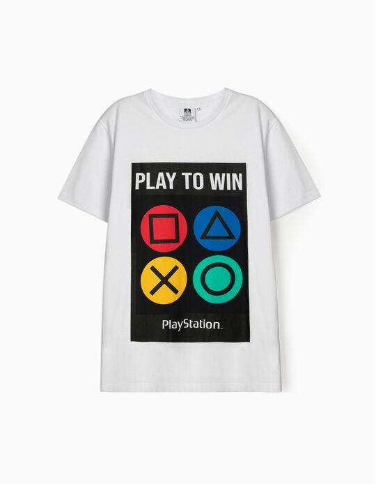T-shirt estampado play