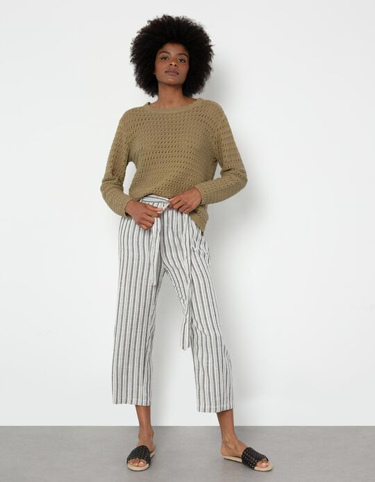 Striped Trousers, Women