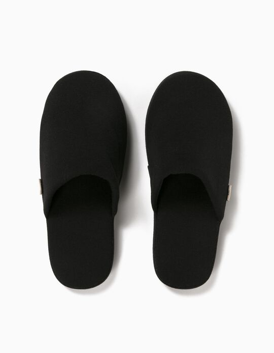 Plain Bedroom Slippers, Men