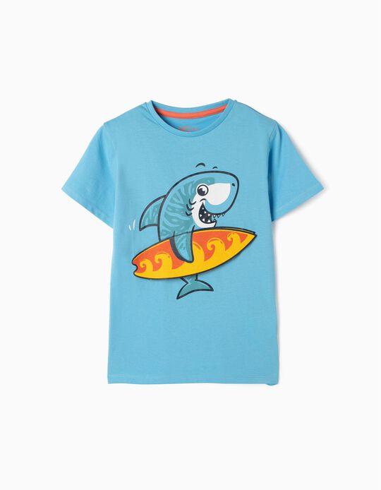 T-shirt Tubarão Surfista