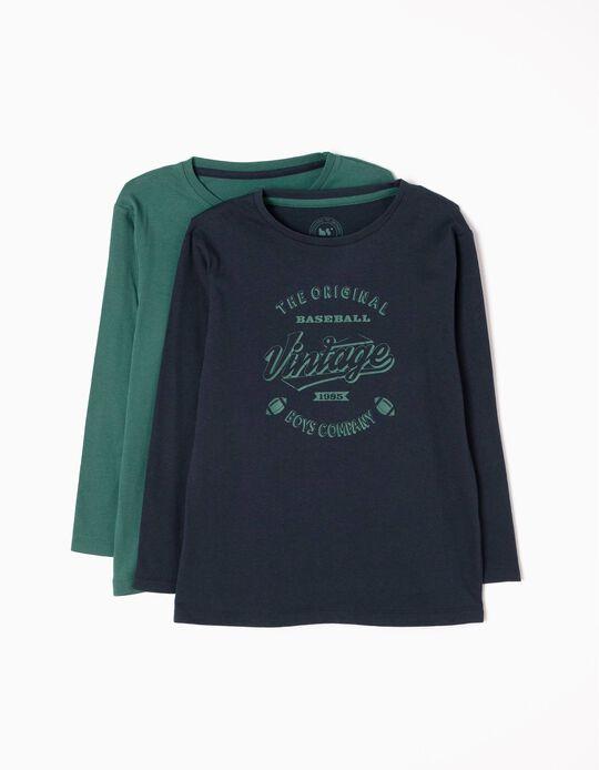 Pack 2 T-shirts Vintage