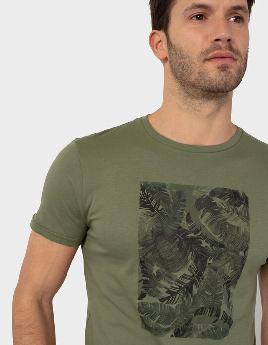 T-shirt with Print, for Men