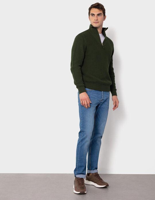 Jeans Slim Fit, para Homem