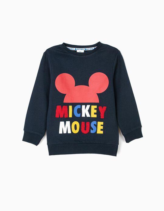 Sweatshirt para Menino 'Mickey', Azul