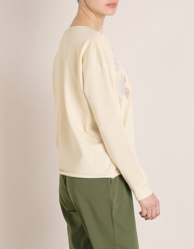 Sweatshirt Com Bordados