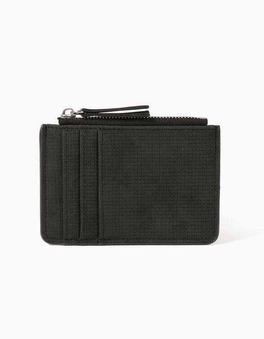 Black Cardholder, for Men